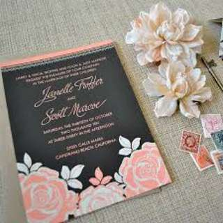 Budget affordable and cheap wedding card design and print
