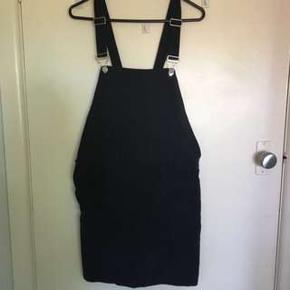 PRINCESS POLLY Ribbed Pinafore