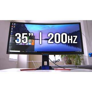 Acer Predator Z35 curved ultrawide G-SYNC2 monitor