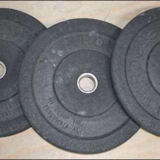 Rogue 10 kg bumper plates