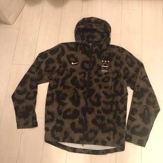 Nike F.C. Real Bristol FCRB Camo Storm-Fit Rain Jacket Khaki 716113-300 M'S size M