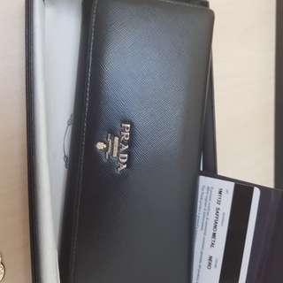 Prada wallet authenic