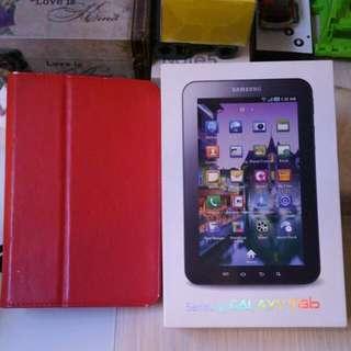 Samsung Galaxy Tab 1 3g📞+Wifi 95%New