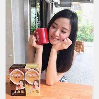 雀巢 三合一 韓式咖啡 原味*1 濃醇*1 咖啡