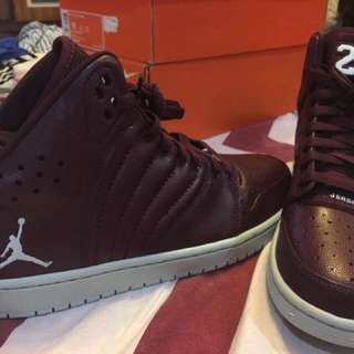 Jordan 1 Flight 4 Maroon Sz 9.5
