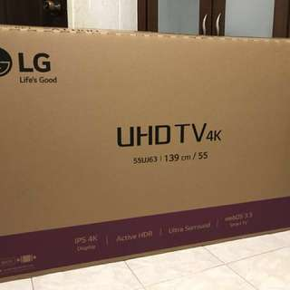 "LG 55"" UHD 4K Smart TV 55UJ632T - New Model"