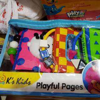 🚚 Playful Pages soft book for age 9month+