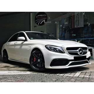 MERCEDES BENZ C63 AMG S (R19 LED)