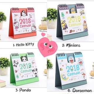 Christmas Gift 2018 Cute Calendar