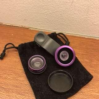 Fisheye Clip Lens