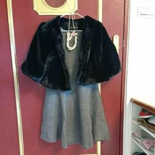 套組優惠(外套全新,洋裝僅穿一次且送洗完成)