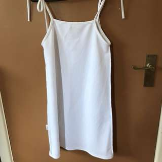 White Missguided Shift Dress
