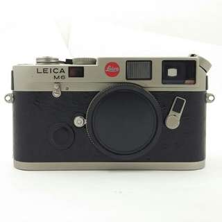 Leica M6 Titanium Body