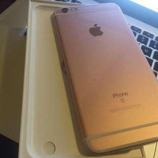 IPhone 6s Plus gold Color