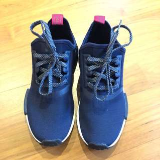 Adidas NMD R1 women's navy blue and red