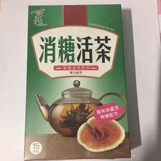 ZINO herbs tea 草姬 消糖活茶 靈芝 番石榴葉 降血糖 保健 茶葉 茶包(15個茶包)