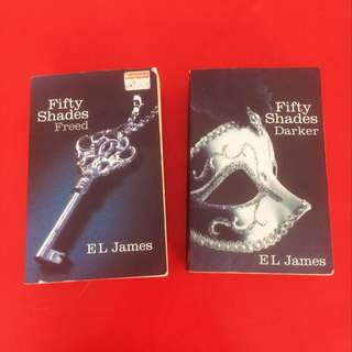 Fifty Shades Darker | Fifty Shades Freed by EL James