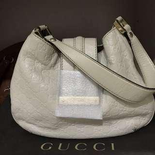 AUTHENTIC GUCCI Web Hobo Handbag