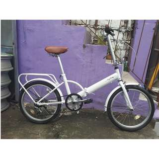 RUKARZE FOLDING BIKE (FREE DELIVERY AND NEGOTIABLE!)