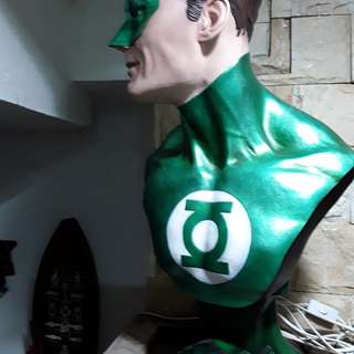 Green Lantern Superhero Figurine