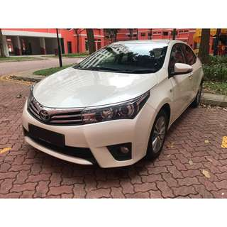Toyota Altis 1.6 AUTO ELEGANCE