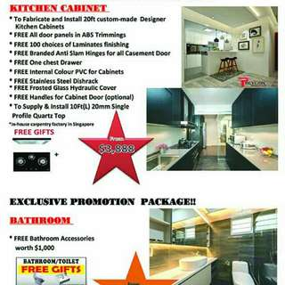 Renovation packages