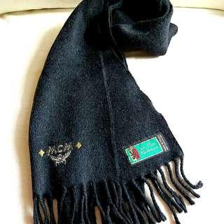 100% Pure Cashmere MCM Vintage Scarf 頸巾 圍巾