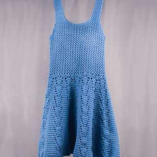 Handmade Knitted Lady Dress