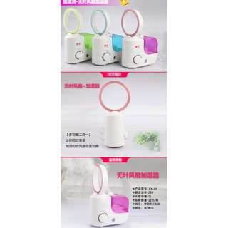 2-in-1 Bladess Air Diffuser and Humidifier Brand new