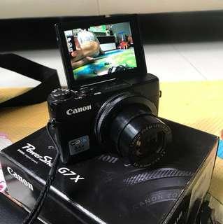 Price reduce ! Very good condition Canon PowerShot G7X