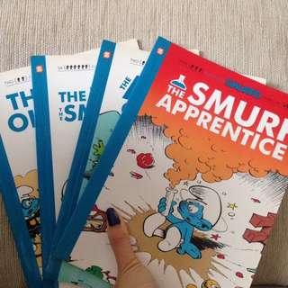 Smurf comics
