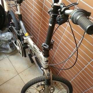 可摺合腳踏單車
