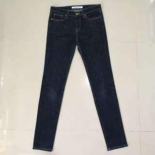 UNIQLO Ultra Skinny Fit Jeans in Dark Blue