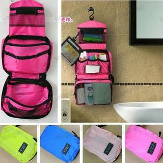TRAVEL MATE TOILETRIES COSMETICS BAG ORGANIZER POUCH