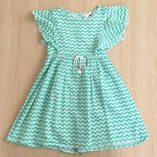 Cotton On Mint Zigzag Dress
