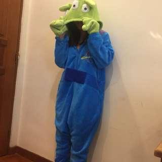 Alien onesie