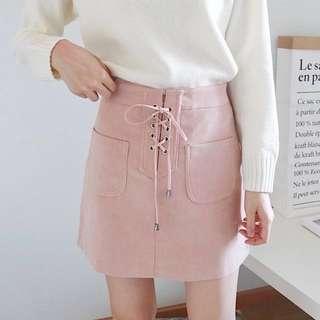 高腰包臀裙A字裙短裙