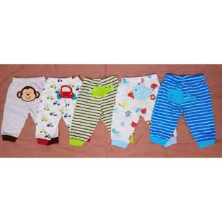 LONG CARTER'S PANTS 0-6M