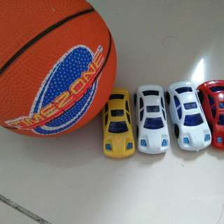 Cars and Ball