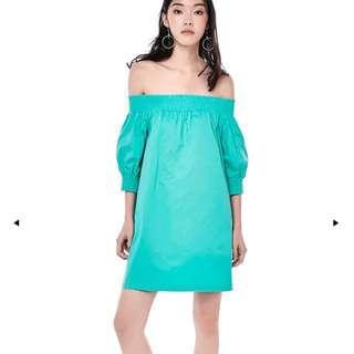 TEM JERENA OFF-SHOULDER DRESS