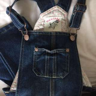 Denim Dungaree ( kids )