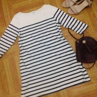 3/4 Stripe Dress