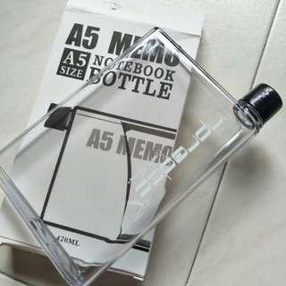A5 Size Notebook Water Bottle (420ML)