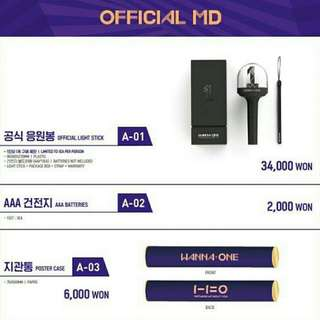 WANNA ONE OFFICIAL MD