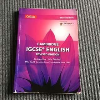Collins Cambridge IGCSE English Student Book Revised Edition