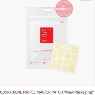 [Ready Stocks] - Cosrx Acne Pimple Master Patch