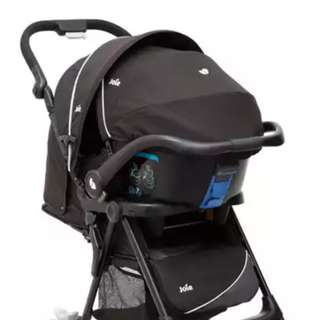 Infant seat and stroller (2 in 1)