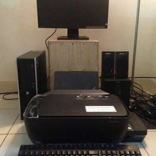 DIJUAL satu set Komputer lengkap+Speaker+