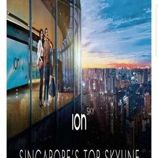 Ion sky admission ticket