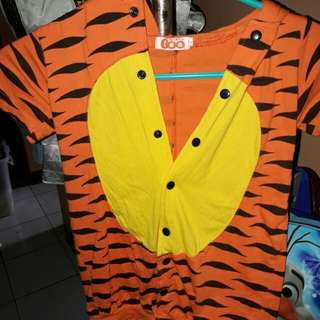 Tiger costume for 2-3yo
